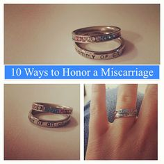 10 Ways to Honor a Miscarriage