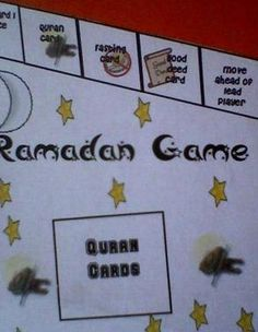 Ramadan Game--very cool, and entire thing can be downloaded for assembly, but probably for when the kids are older