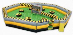 Toxic Meltdown is Party Perfect Rentals 8 player action game, which challenges your stamina, agility and reactions. New Jersey, New York, and PA party rentals! 888.743.3780