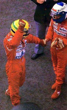 Ayrton Senna ~ Alain Prost