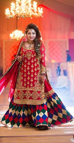 Pakistani bride, Pakistani bridal dress.
