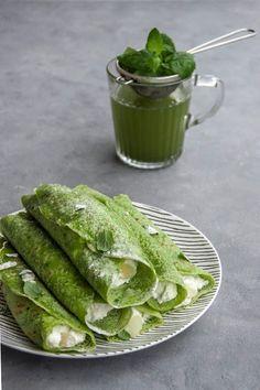 Od A do Z ugotujesz: Zielone naleśniki z aromatycznym twarogiem Pickles, Cucumber, Vegetables, Food, Veggie Food, Pickle, Vegetable Recipes, Cauliflower, Meals