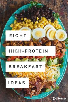 Do you want some delicious high-protein breakfast ideas? #breakfast #ideas #healthy #easy #quick #highprotein