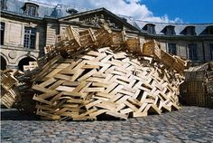 Tadashi Kawamata's Gandamaison in Versailles