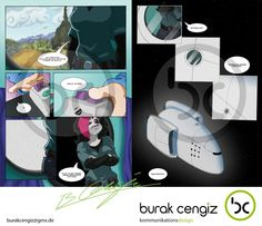 Page five and six. Written and illustrated by Burak Cengiz. http://xirmatul.deviantart.com