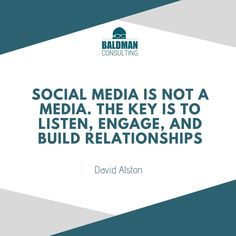 Social media is about interaction. Connecting with your audience proves you more than a business. You're a person eager to solve your target audience's problems. Marketing Quotes, Target Audience, Content Marketing, Business Tips, Relationship, Social Media, Design, Event Posters