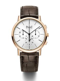 The new #piaget Altiplano Chronograph sets a new record for world's thinnest hand-wound flyback chronograph.