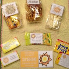 A box of sunshine missionary package