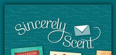 http://charitajones.scentsy.us Sincerely Scent is a new set of products offered by Scentsy Fragrance - a line of customizable, personalizable greeting, birthday, holiday or any other type cards you can think of. Simply purchase card credits through me {CHARITA 630-656-3265} and every credit can be used to send a card!   Each card cost $2.85 (USD / $3.82 CAD) ALL POSTAGE INCLUDED. YOU CAN ORDER BUNDLES OF 10, 25, AND 100.