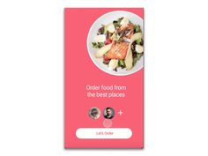 Food-Bot-Chat on UI Movement