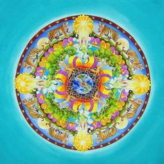 Release Mandala by Vikki Reed