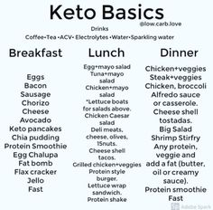 Keep it simple 👍🙌 How does your favorite keto meal look like? If you'r… Keep it simple 👍🙌 How does your favorite keto meal look like? If you're a Keto newbie… don't over think it. If you have to ask yourself… Cetogenic Diet, Keto Diet Plan, Easy Keto Meal Plan, Simple Keto Meals, Keto Diet Foods, High Fat Keto Foods, Diet Menu, Lchf Diet, Atkins Diet