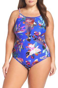 b13d5ea373f Havana Mio One-Piece Swimsuit Plus Size Resort Wear
