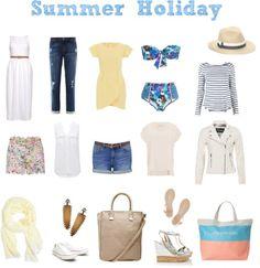 Summer wardrobe essentials for a beach holiday