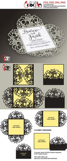 793 Best Silhouette Cards Images In 2019 Invitations Silhouette
