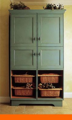 New kitchen pantry cabinet ideas diy cupboards ideas Kitchen Pantry Cupboard, Kitchen Sink Diy, Freestanding Kitchen, Kitchen Pantry Design, Home Decor Kitchen, Kitchen Storage, Pantry Storage, Kitchen Ideas, Kitchen Designs