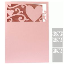 a2, 5x5, & 5x7 hearts flourish card by daniela angelova #74368