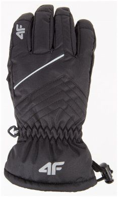 Rękawice narciarskie chłopięce JREM001 - czarny