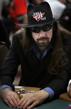 "Pro Poker Player Chris ""Jesus"" Ferguson"