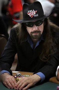 "Pro Poker Player Chris ""Jesus"" Ferguson"