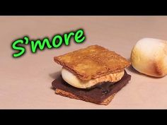 ▶ 'Realistic' Polymer Clay S'more Tutorial - YouTube