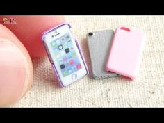 Miniature iPhone & Phone Case DIY - Petit Palm - YouTube