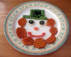 The Iowa Farmer's Wife: Guest Post: Getting Children to Eat New Foods: St Patrick Loves Veggies