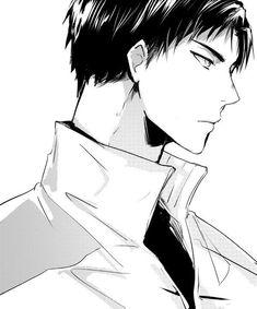 Image about anime in Haikyuu! Haikyuu Ushijima, Ushijima Wakatoshi, Kagehina, Kenma Kozume, Haikyuu Manga, Haikyuu Fanart, Anime Manga, Anime Art, Haikyuu Characters