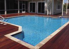 Above Ground Pool Decks Build Your Dream Backyard : Above Ground Pool Decks Luxury Looks