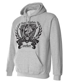 Seeker Crest - Get the Snitch, Harry Potter Inspired Hoodie Sweat Shirt. $27.95, via Etsy.