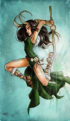 Lady Loki II by CaptBexx on DeviantArt