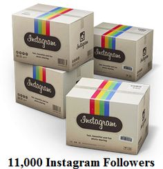 11,000 Instagram Followers