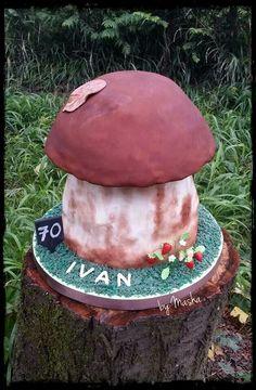 Mashroom cake Mushroom Cake, Stuffed Mushrooms, Cakes, Toadstool Cake, Stuff Mushrooms, Cake Makers, Kuchen, Cake, Pastries