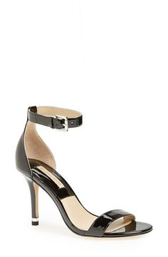 Free shipping and returns on Michael Kors 'Natasia' Sandal (Women) at Nordstrom.com. Liquid-shine patent leather defines the clean curves of a modern, elegant sandal accented with silvertone hardware at the heel.