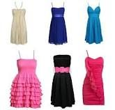 New dresses for of course me i love the black one and the dark pink one