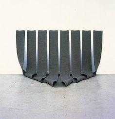 Robert Morris  Untitled, 1996  Felt  © Sonnabend Gallery