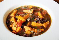 black bean & sweet potato chili - Girl Versus Dough