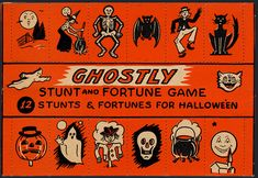 Ghostly Stunts Vintage Game by halloween_guy, via Flickr