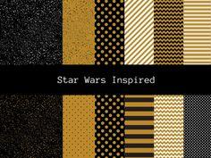 Starwars Inspired Digital Papers