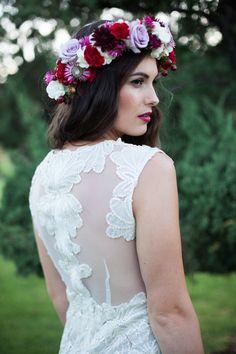 Romantic Orchard Inspiration Shoot | Wedding Gown: Ruth Tarvydas | On Style Me Pretty Australia -- http://www.StyleMePretty.com/australia-weddings/western-australia-au/perth/2014/02/21/romantic-orchard-inspiration-shoot/ Amelia Claire Fine Art Photography