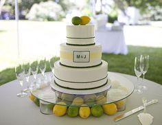 make a glass cake stand
