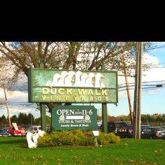 Duck Walk Vineyards, Southold, Long Island, NY