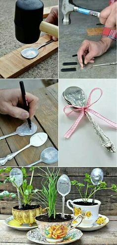 Working with old spoons