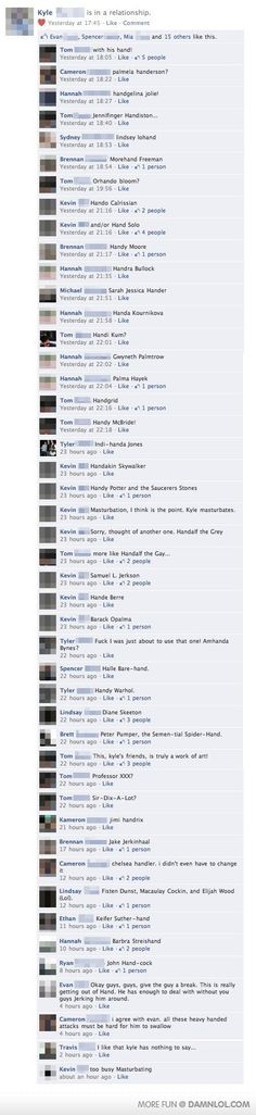 lol the last 4* comments are actually the funniest...and chelsea handler* lol