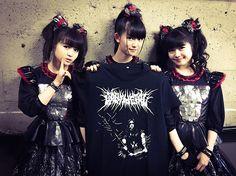 """""""白ミサ"""" THE WHITE MASS in OSAKA!!超ブルータルでBLACKな限定Tシャツも発売DEATH!!灼熱の大阪よ、真っ白に染まれ!!#BABYMETAL #白ミサ #TOKYODOME #東京ドーム"""