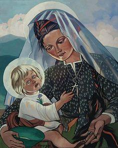 Stryjeńska Madonna Góralska