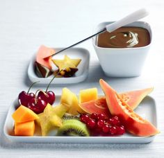 fruits chocolat fondu