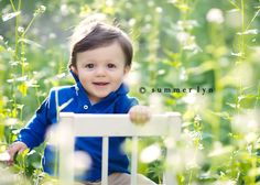 Boy in flower field backwards in chair. Chair Photography, Baby Boy Photography, Spring Photography, Heart Photography, Children Photography, Family Photography, Photography Ideas, Toddler Poses, Baby Poses