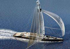 Amazing Yachts: Ankida Sailboat Concept designed by Lila lou Design