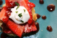 Cheat Day: Strawberry Buttermilk Shortcakes